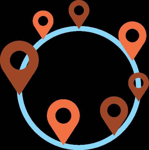 Meerdere locaties? wij verbinden ze met elkaar.